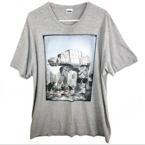 Star Wars | Grey Short Sleeve Graphic Tee